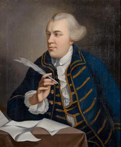 John Wilkes (1727-1797) Portrait by the Studio of Robert Edge Pine (British, circa 1733-1788)