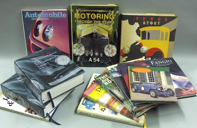 A good quantity of general motoring books,