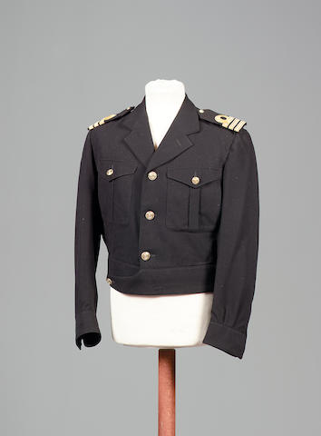 Roger Moore from The Spy Who Loved Me, 1977 A Navy battle dress jacket,