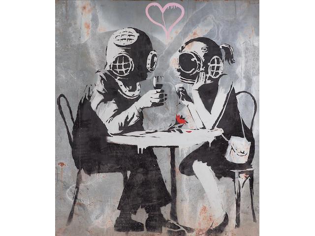 Banksy (British, b.1975) Think Tank