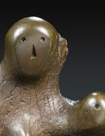 Henry Moore O.M., C.H. (British, 1898-1986) Mother and Child - Arch 55.9 cm. (22 in.) high; 55.2 cm. (21 3/4 in.) wide; 33 cm. (13 in.) deep (all including base) (Conceived in 1959)