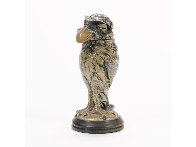 Martin Brothers A Stoneware Model of a Grotesque Bird, 1905