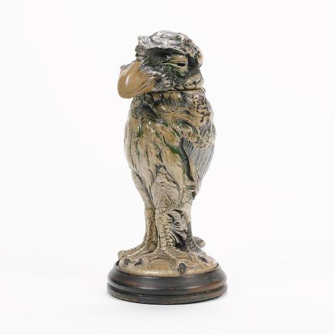 Martin Brothers A Stoneware Model of a Grotesque Bird, 1905