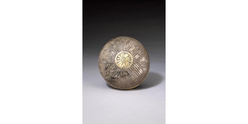 An Achaemenid silver gilt lotus bowl