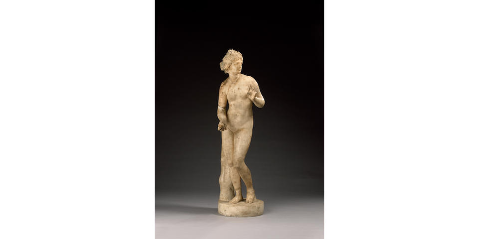 A Roman marble figure of Venus