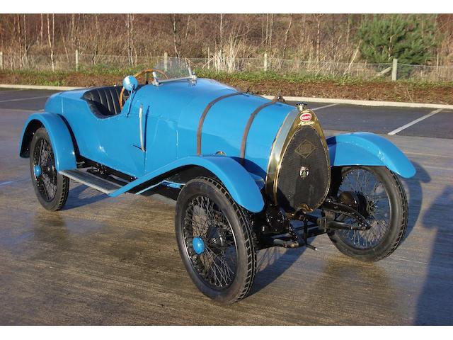 The ex-Major Bertram H Austin, Brooklands-winning,1923 Bugatti 1,496cc Type 22 Brescia  Chassis no. 1612 Engine no. 1612
