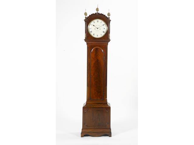 An early 19th century mahogany longcase clock Thomas Pace, London