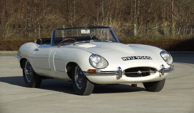1969 Jaguar E-Type 4.2-Litre Series II Roadster  Chassis no. 1E2169 Engine no. 7E-18342-9