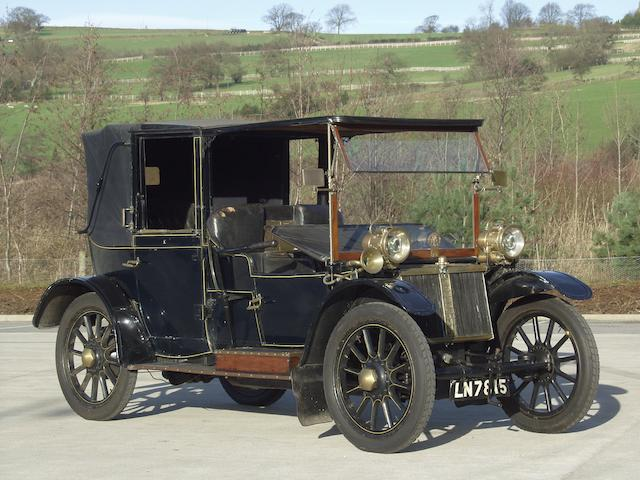 1908 Lanchester 20hp Landaulette  Chassis no. 687 Engine no. 746