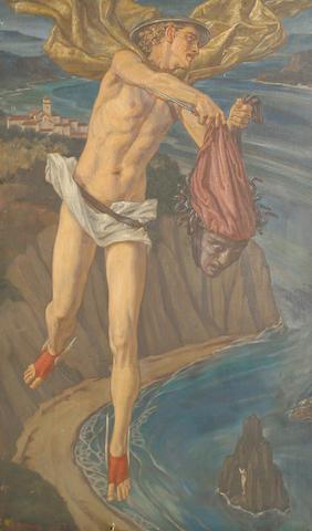 Agnes Clara Tatham (British, 1893-?) Perseus and Medusa