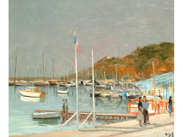 Marcel Dyf (French, 1899-1985) Embarcadre a Golfe Juan