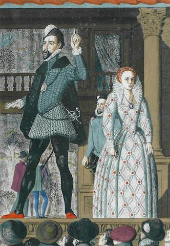 James Cleaver (British, 1911-2003) The Elizabethan stage