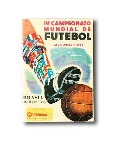 1950 World Cup Final programme