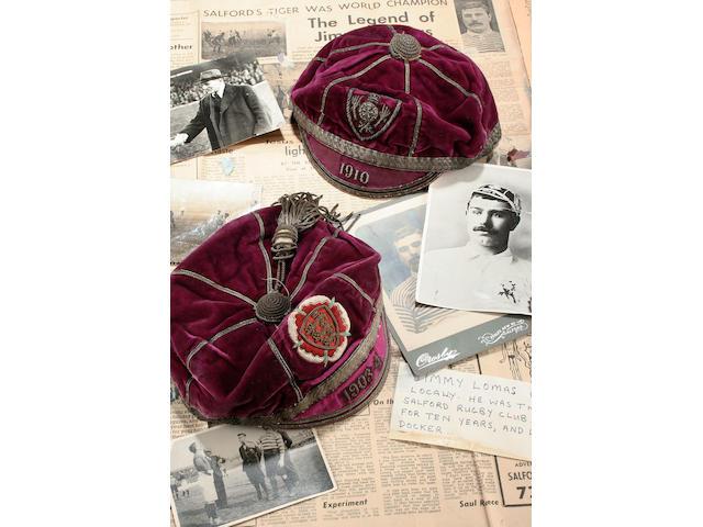 Jimmy Lomas Lions Cap, 1910