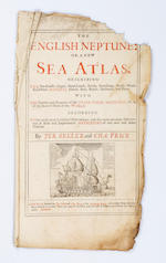 SELLER (JEREMIAH) and CHARLES PRICE The English Neptune: or, a New Sea Atlas... with the nature and
