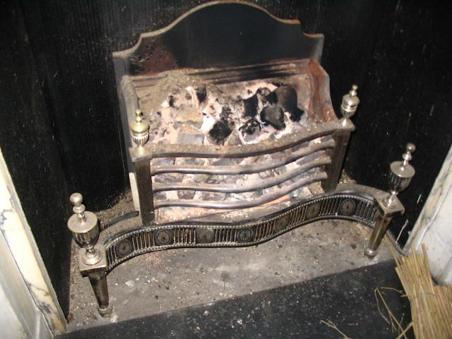 A Neo-classical style fire grate