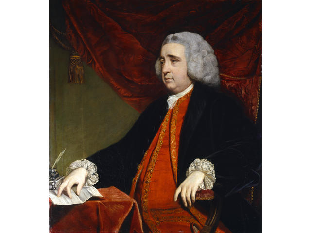 Henry Fox, 1st Baron Holland (1705-1774)Portrait by Sir Joshua Reynolds, PRA (British, 1723-1792)