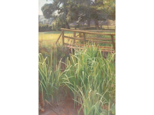 Ernest Board (British, 1877-1934) Tranquil summer landscape,