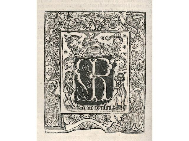 YEARBOOKS, HENRY VI De termino Michaelis Anno primo Henrici sexti