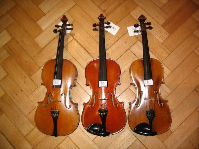A Mirecourt Dulcis et Fortis Violin  by JTL circa 1900 (3)