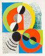 Sonia Delaunay (French, 1885-1979) Affreux Solo Lithograph, 1969, printed in colours, on Arches, sig