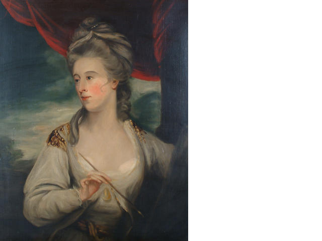 After Sir Joshua Reynolds, PRA Portrait of Angelica Kauffman