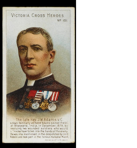 Taddy Victoria Cross Heroes set (101-125), F-VG.