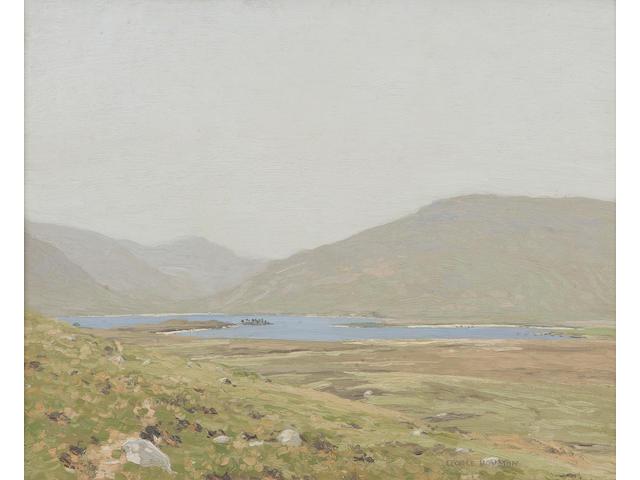 George Houston, RSA RSW RGI (British, 1869-1947) Summer Loch scene