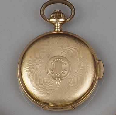 A minute repeating hunter pocket watch