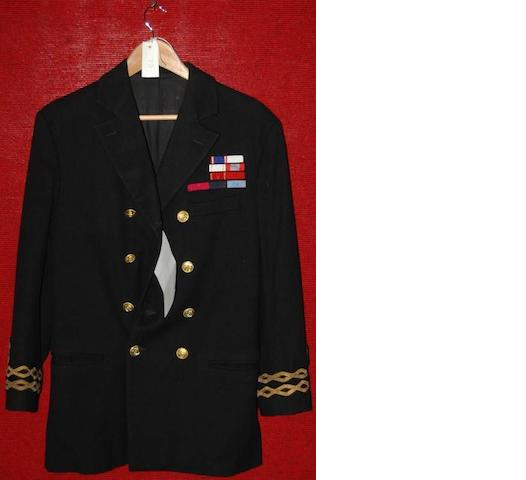 Kenneth Branagh from Shackleton, 2002 A naval officers jacket,