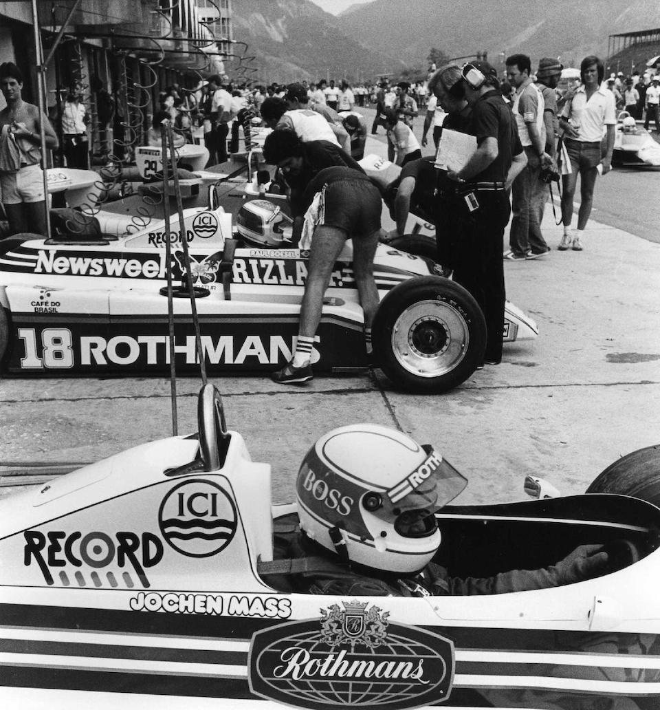 The Ex-Raul Boesel,1982 March-Cosworth 821 Formula 1 Racing Single-Seater  Chassis no. RM09
