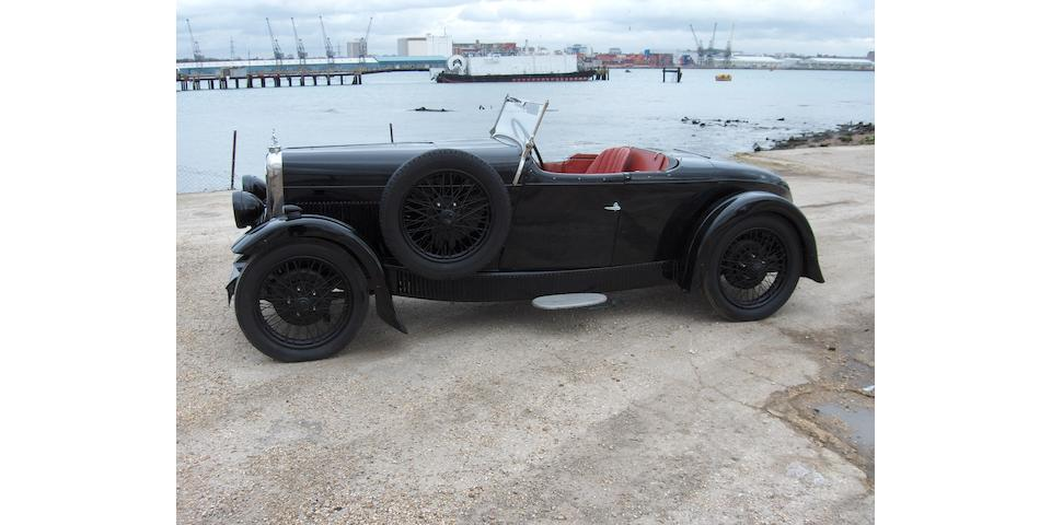 1932 Alvis 12/60hp 'Beetleback' Tourer  Chassis no. to be advised
