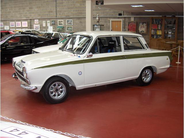 1966 Ford Lotus Cortina MkI FIA Appendix K Rally Car  Chassis no. BA74FY59140 Engine no. FY59140