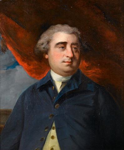 Charles James Fox (1749-1806) Portrait by the Studio of Sir Joshua Reynolds, PRA (British, 1723-1792)