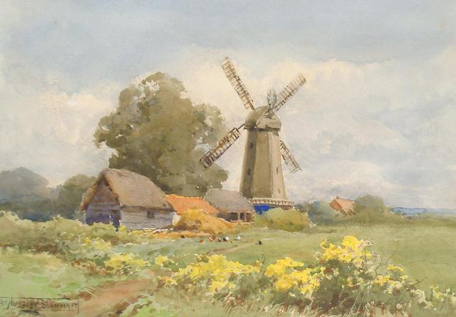 Henry John Sylvester Stannard, RBA (British, 1870-1951) 'Silver Hill'