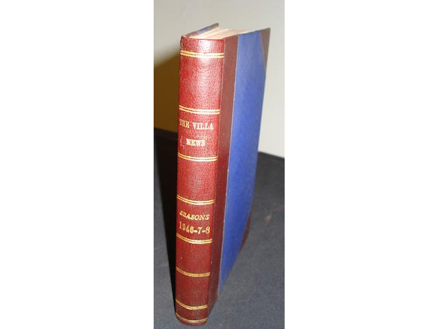 Bound Volume covering 1946-47-48