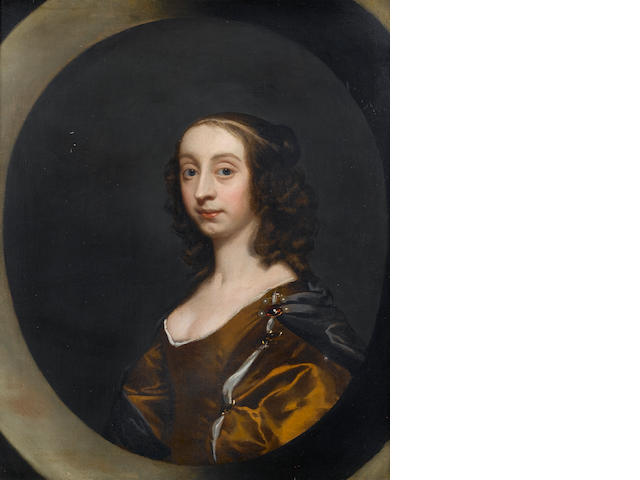 Circle of Sir Peter Lely (Soest 1618-1680 London) Portrait of a lady, 72.4 x 59.7 cm. (28½ x 23½ in.