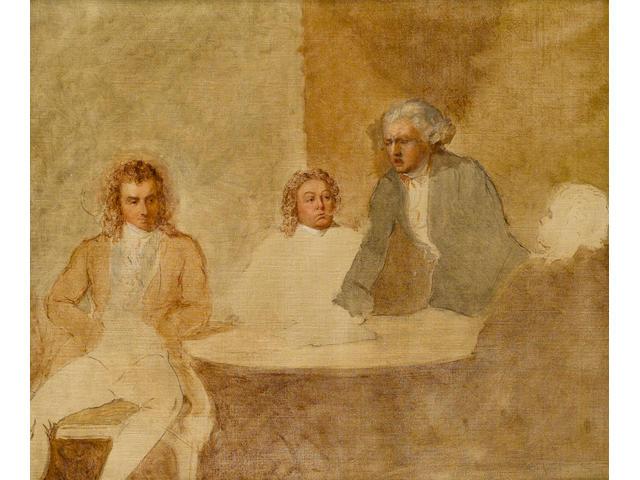 Maximilien de Robespierre (1758-1794); Louis de Saint-Just (1767-1794); Georges Jacques Danton (1759-94)