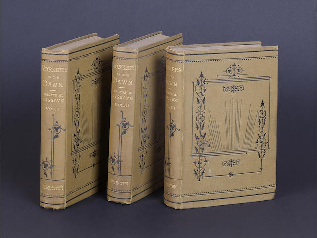 GISSING (GEORGE) Workers in the Dawn, 3 vol.