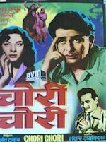 Chori Chori 1956 Indian Cinema Poster