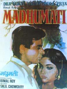Madhumati 1958 Indian Cinema Poster