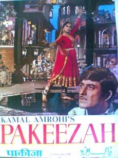 Pakeezah 1971 Indian Cinema Poster