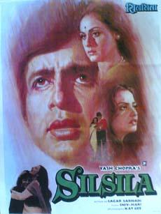 Silsila 1981 Indian Cinema Poster