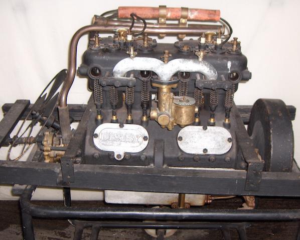 An Edwardian Deasy Four-Cylinder Motor Car Engine,