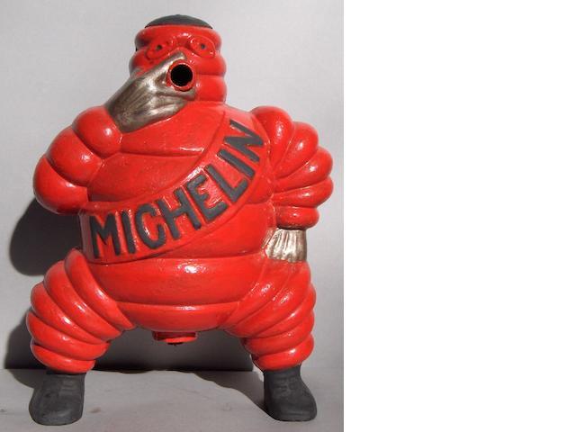 A cast iron Michelin Mons. Bibendum figure,