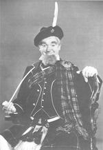 Personal Costumes owned by Luarel and Hardy Two Kilts and Sporrans as well as other effects used by Stan and Ollie
