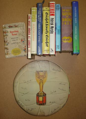 A collection of signed books