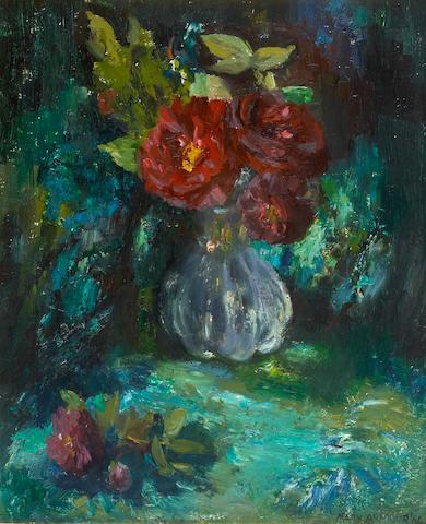 Mary Armour, RSA RSW (British, 1902-2000) Peonies