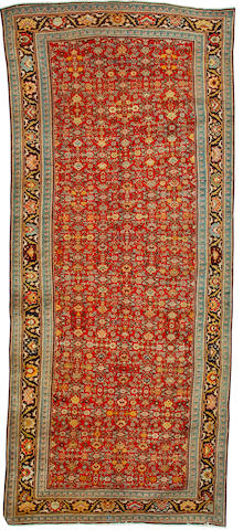 A Karabagh carpet South Caucasus, 15 ft 5 in x 6 ft 7 in (470 x 200 cm) some minor restoration