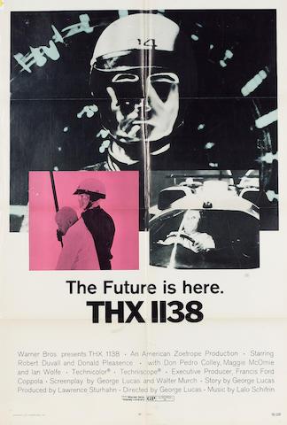 THX 1138 1970 US One Sheet